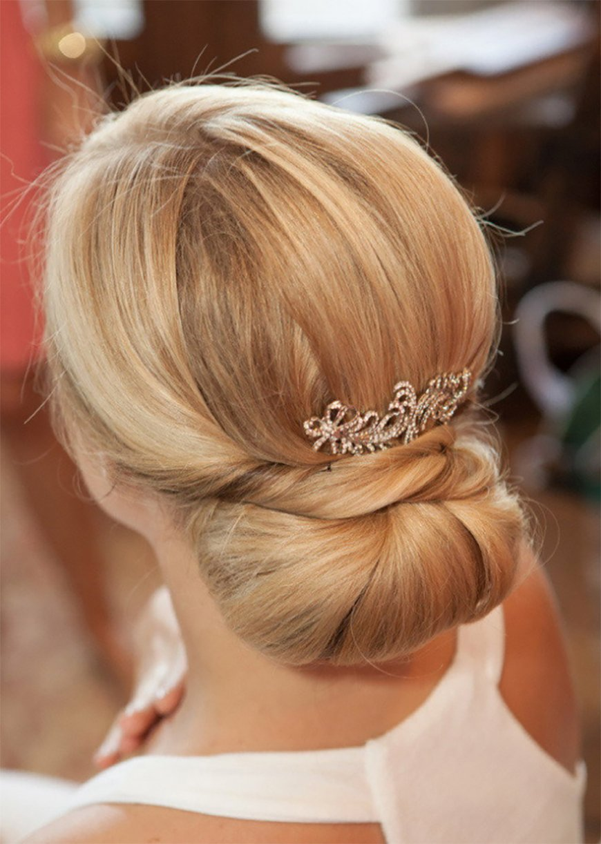Wedding Hair – Simple and Stylish Updos - Chignon | CHWV