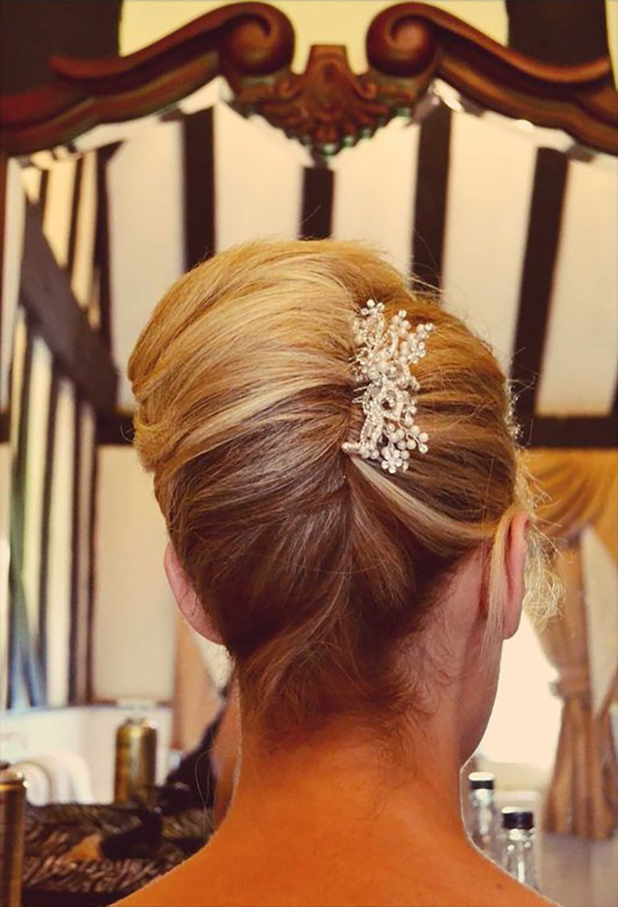 Simple And Stylish Updos Wedding Hair Chwv