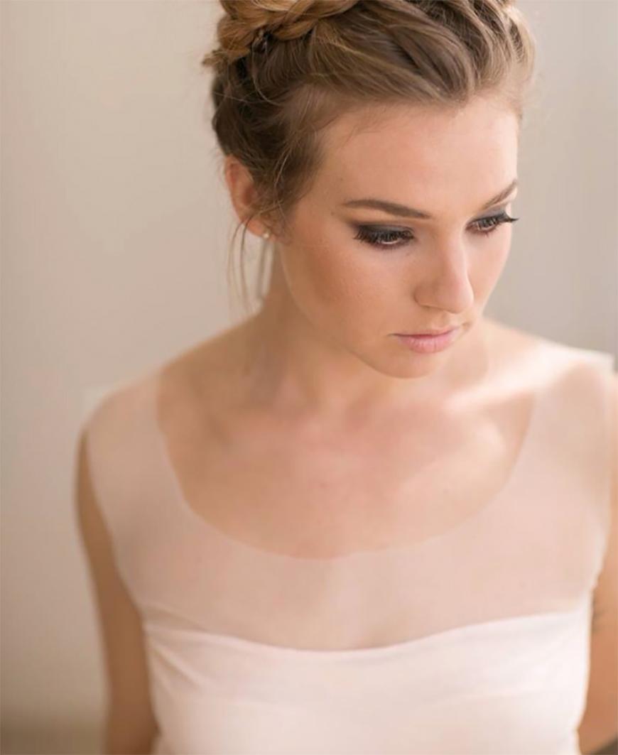 Wedding Hair – Simple and Stylish Updos - High bun with plaits | CHWV