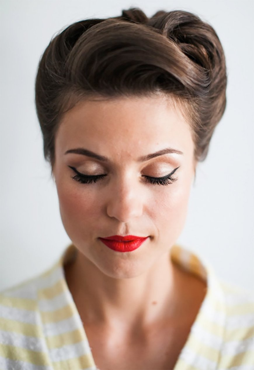 Wedding Hair – Simple and Stylish Updos - Pin up hair | CHWV