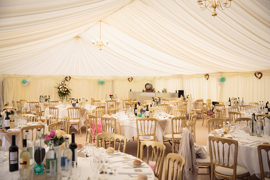 Say I do to Slaugham Place - Marquee for wedding breakfast | CHWV