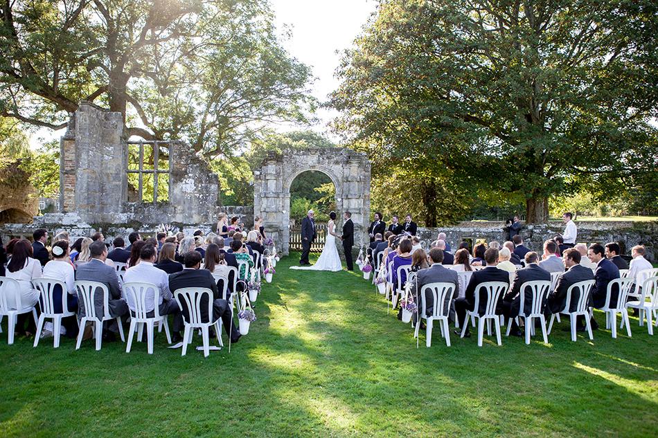 Say I do to Slaugham Place - Outdoor ceremony | CHWV