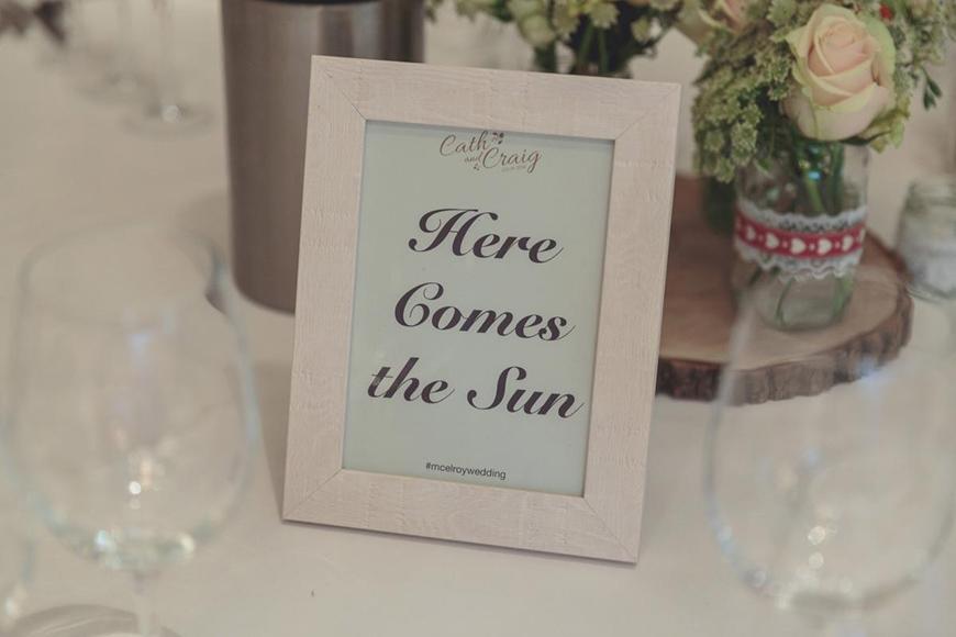 30 Amazing Wedding Table Name Ideas - Classic tracks | CHWV