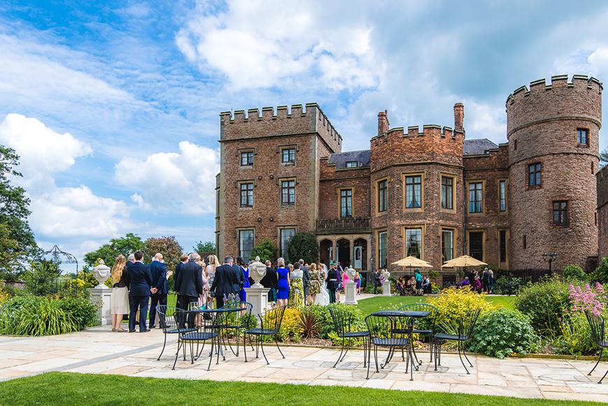 7 Spectacular Wedding Venues In Shropshire - Rowton Castle | CHWV