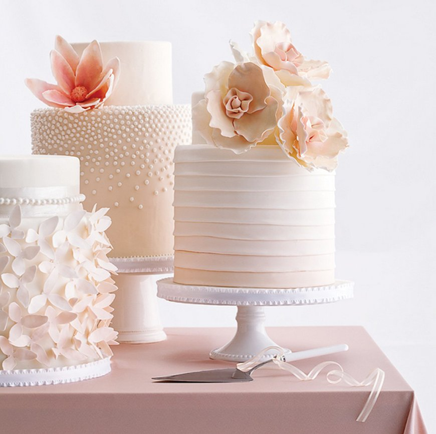 45 Wedding Cakes With Sugar Flowers That Look Stunningly: 14 Stunning Spring Wedding Cakes