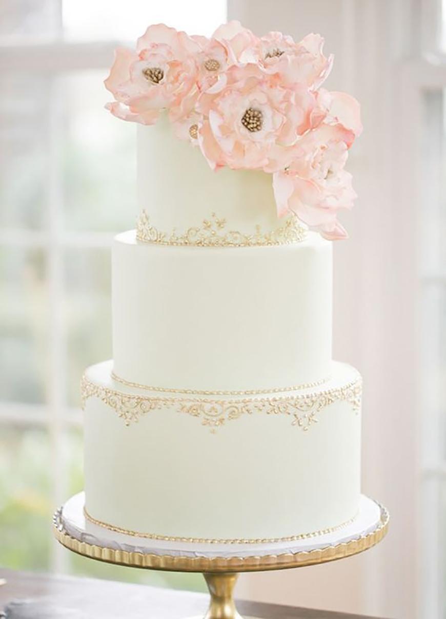 14 Stunning Spring Wedding Cakes Chwv