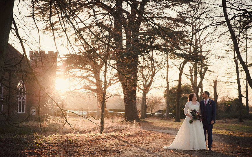 The Best Country House Wedding Venues For An Autumn Wedding - Stansted Park | CHWV