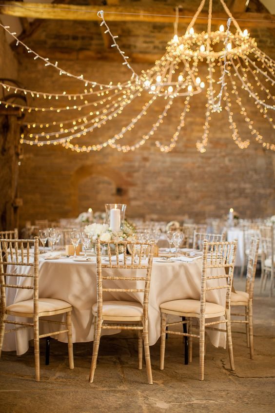 stunning wedding lighting ideas styling your venue chwv. Black Bedroom Furniture Sets. Home Design Ideas
