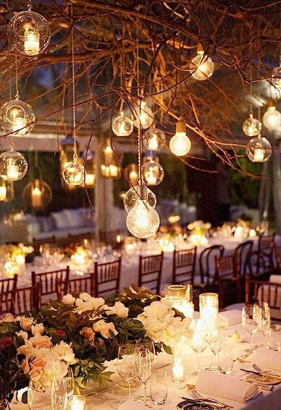 Styling Your Venue: Stunning Wedding Lighting Ideas - Candles | CHWV