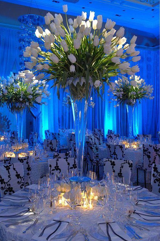 Styling Your Venue: Stunning Wedding Lighting Ideas - Up-lighting | CHWV