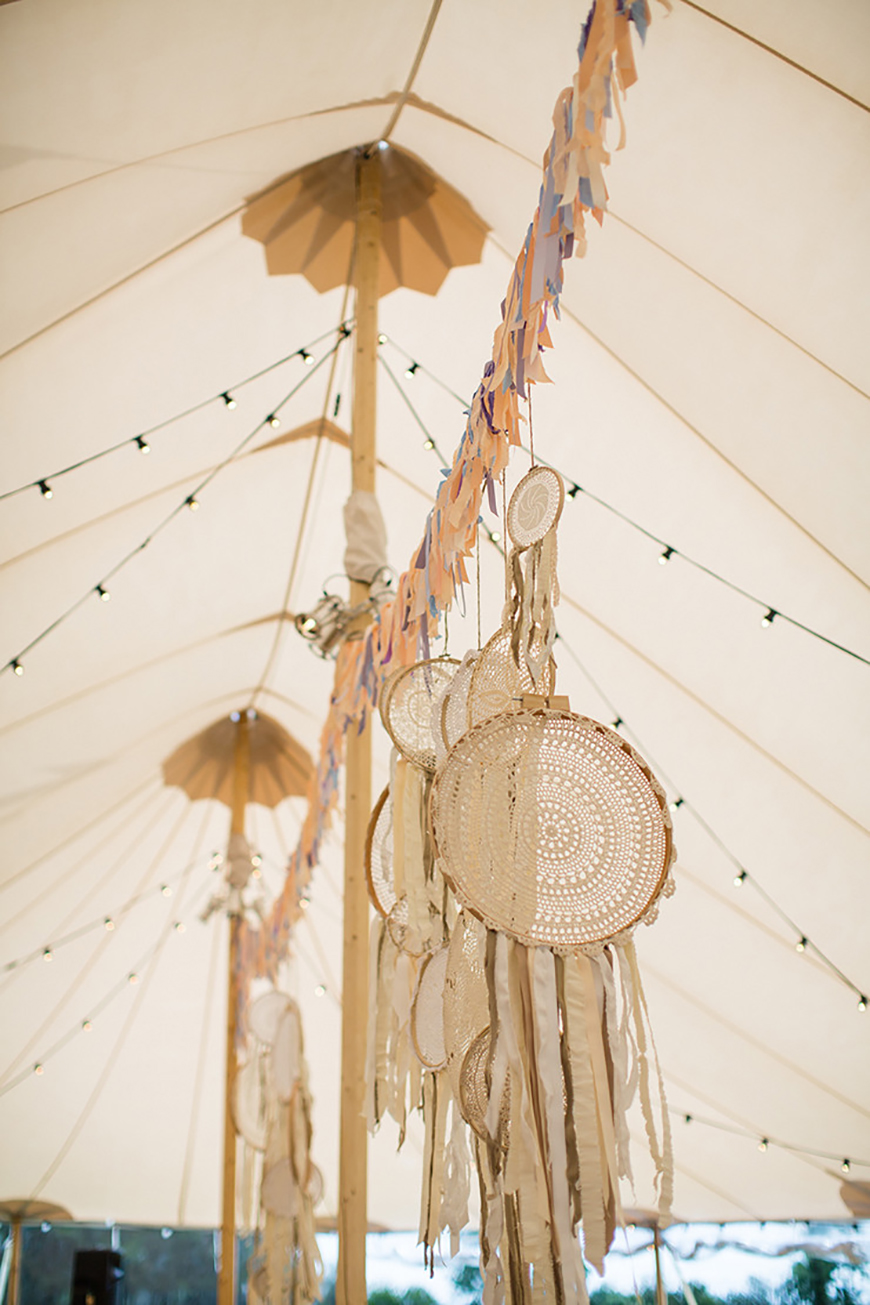 How To Style Those Amazing Marquee Wedding Venues - Boho | CHWV