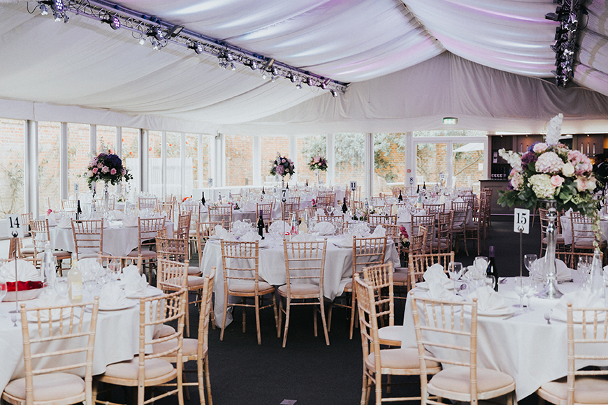 How To Style Those Amazing Marquee Wedding Venues - Braxted Park | CHWV