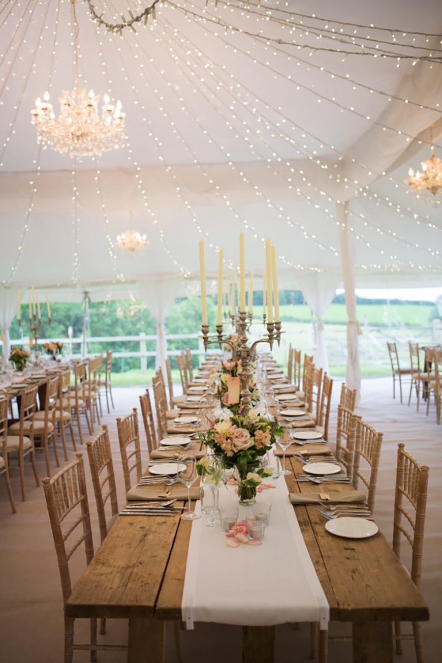 How To Style Those Amazing Marquee Wedding Venues
