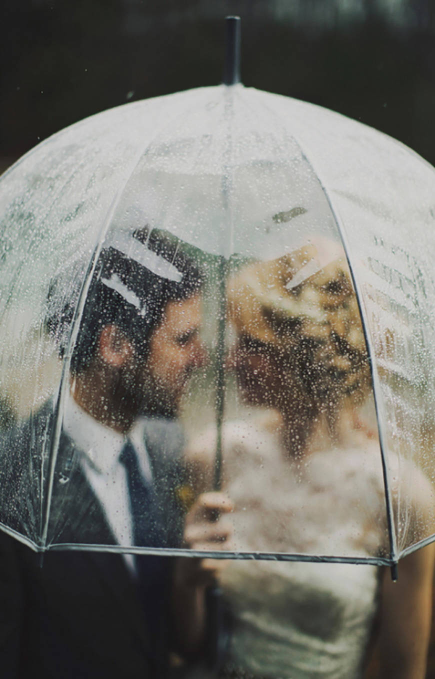 Styling outdoors at your wedding reception - Umberella | CHWV