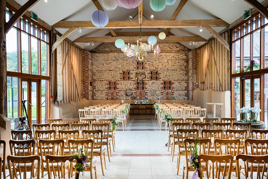 7 Summer Wedding Venues In Sussex - Upwaltham Barns | CHWV