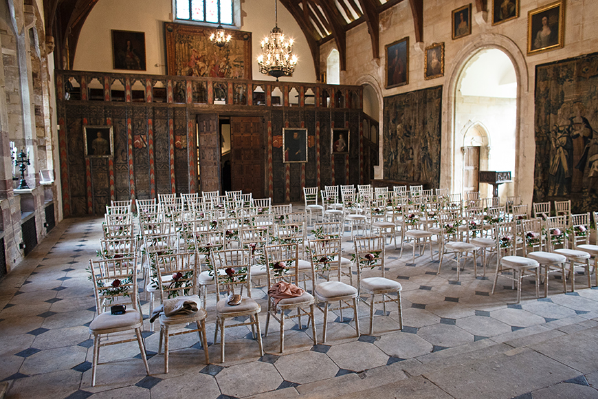 9 Summer Wedding Venues In The Cotswolds - Berkeley Castle | CHWV