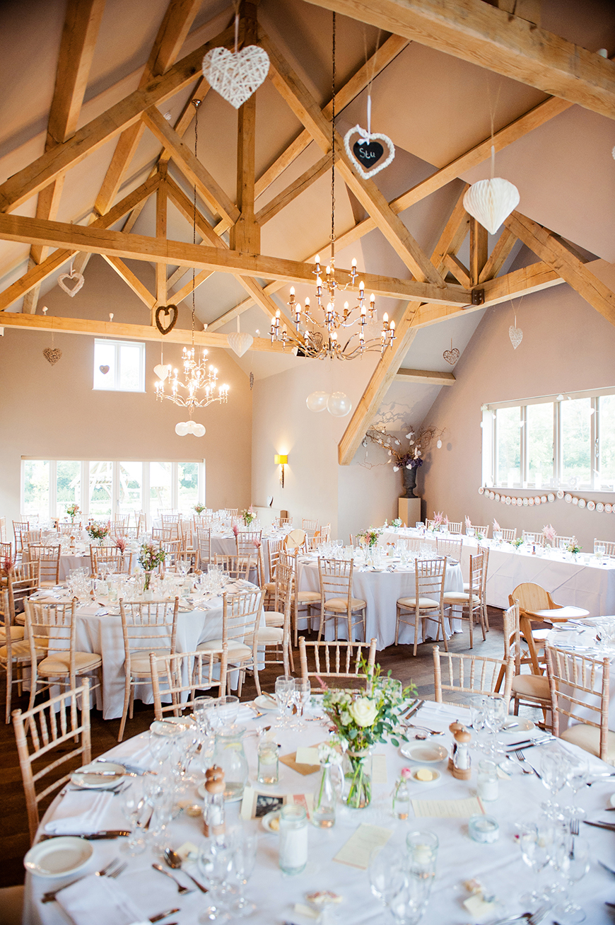 9 Summer Wedding Venues In The Cotswolds - Hyde Barn | CHWV
