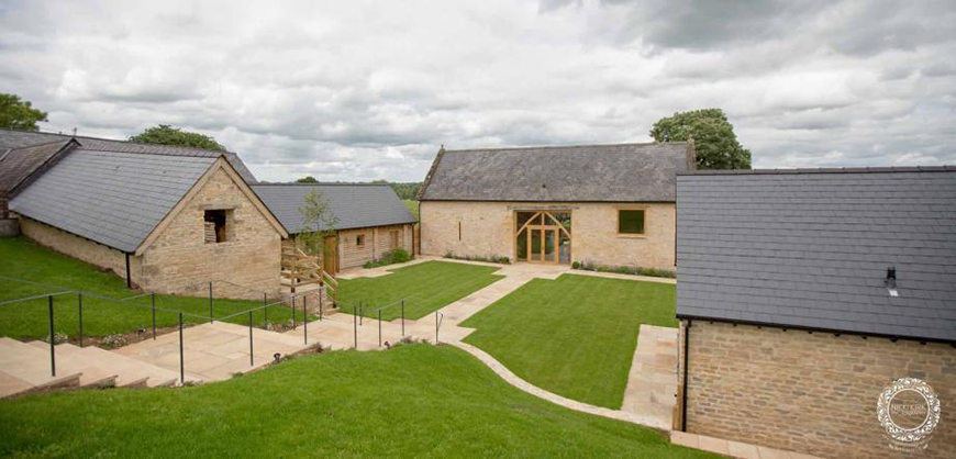 9 Summer Wedding Venues In The Cotswolds - The Barn at Upcote | CHWV