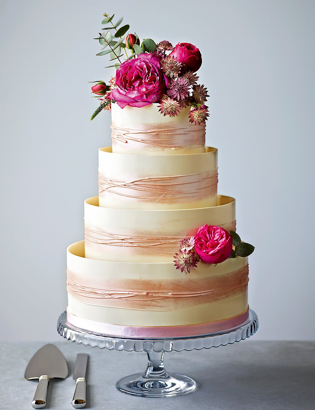 marks and spencer wedding cakes to decorate yourself supermarket wedding cakes chwv 17179