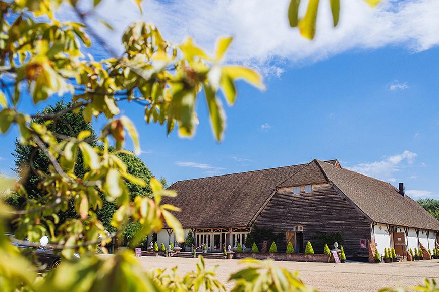 The Best Barn Wedding Venues in Surrey - Rivervale Barn | CHWV