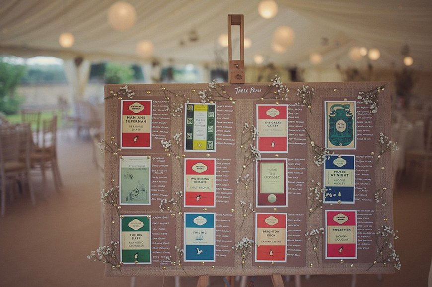 16 Table Plan Ideas for a Quirky Wedding | CHWV