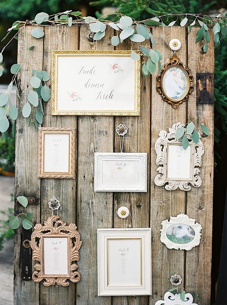 16 table plan ideas for a quirky wedding chwv for How to display picture frames on a table