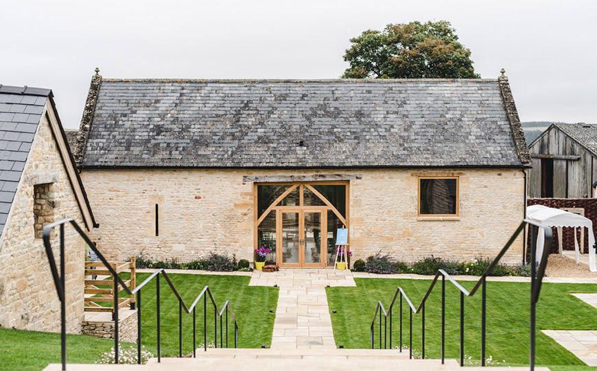 27 Intimate Wedding Venues That You Have To See - The Barn at Upcote | CHWV