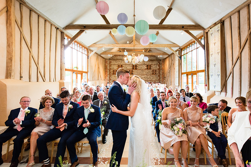 The Best Garden Wedding Venues For Summer - Upwaltham Barns   CHWV