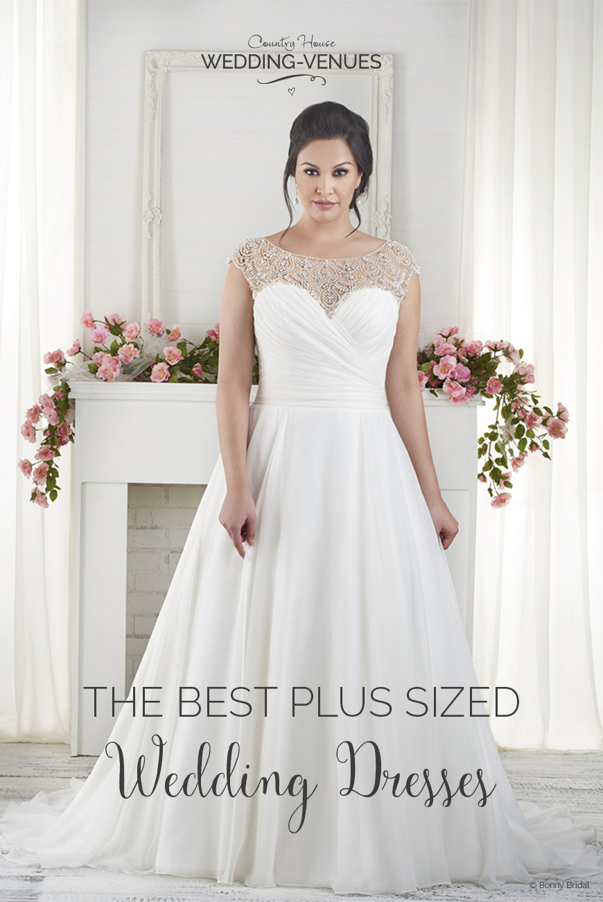 10 Of The Best Plus Sized Wedding Dresses | CHWV