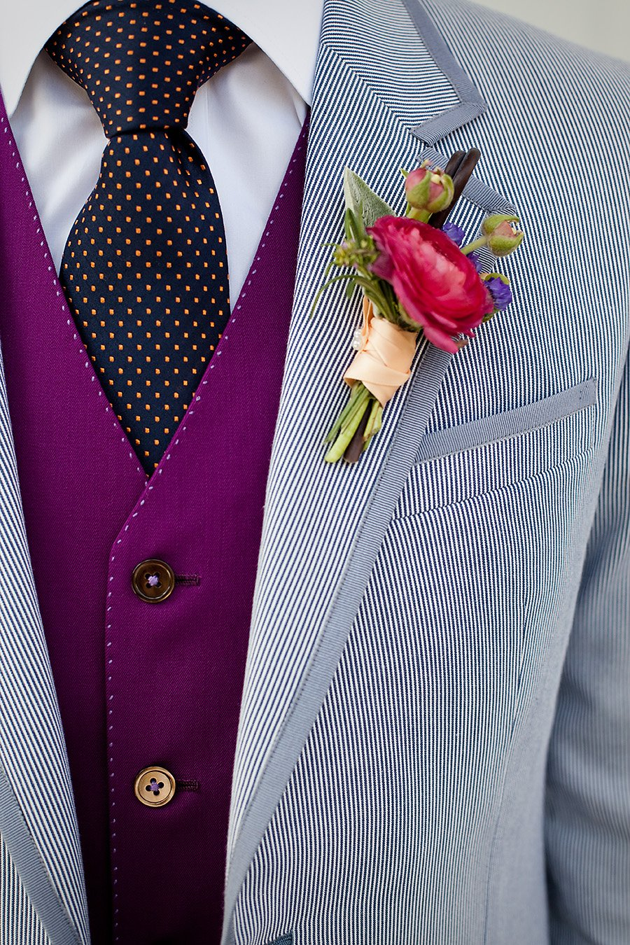 How To Find The Best Spring Wedding Suit - Textures and patterns | CHWV