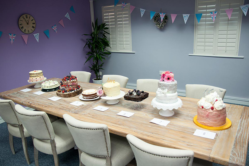 CHWV loves Bake Off, so this year we decided to do our own!