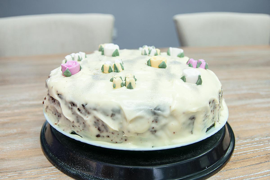 CHWV loves Bake Off, so this year we decided to do our own! Carol