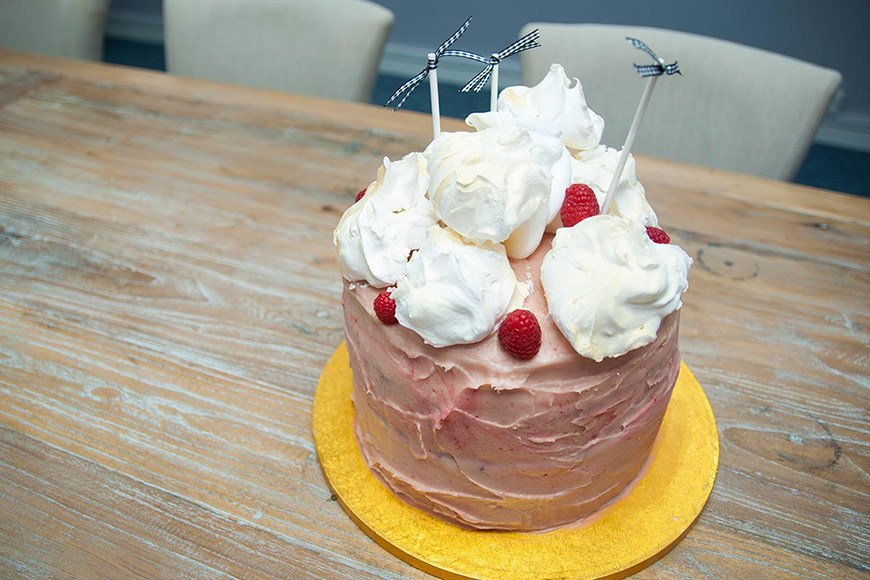 CHWV loves Bake Off, so this year we decided to do our own! Gemma