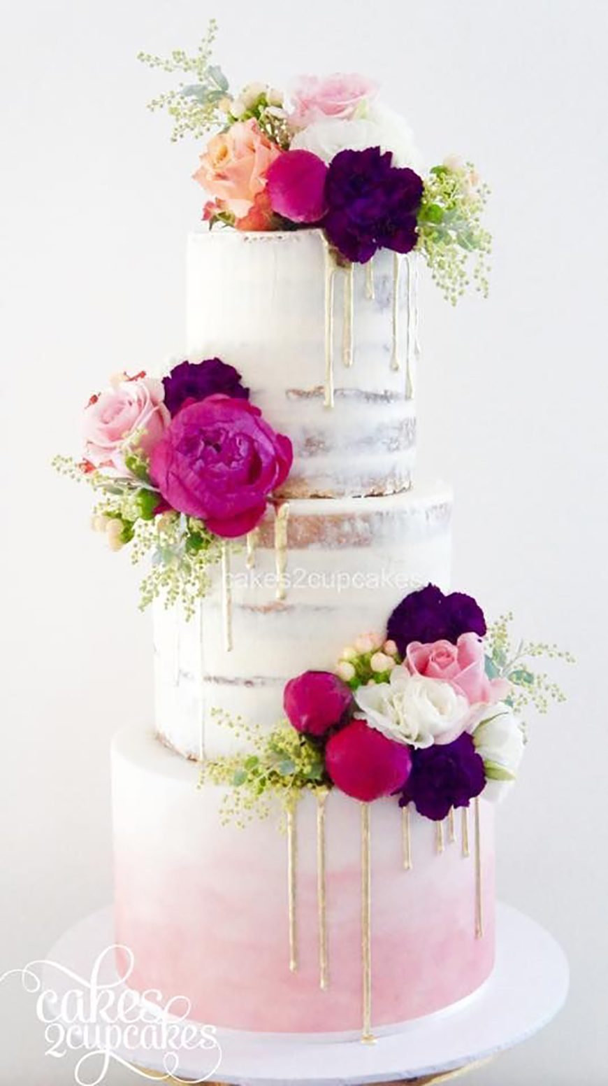 The Hottest Wedding Trends For 2017 - Cakes   CHWV