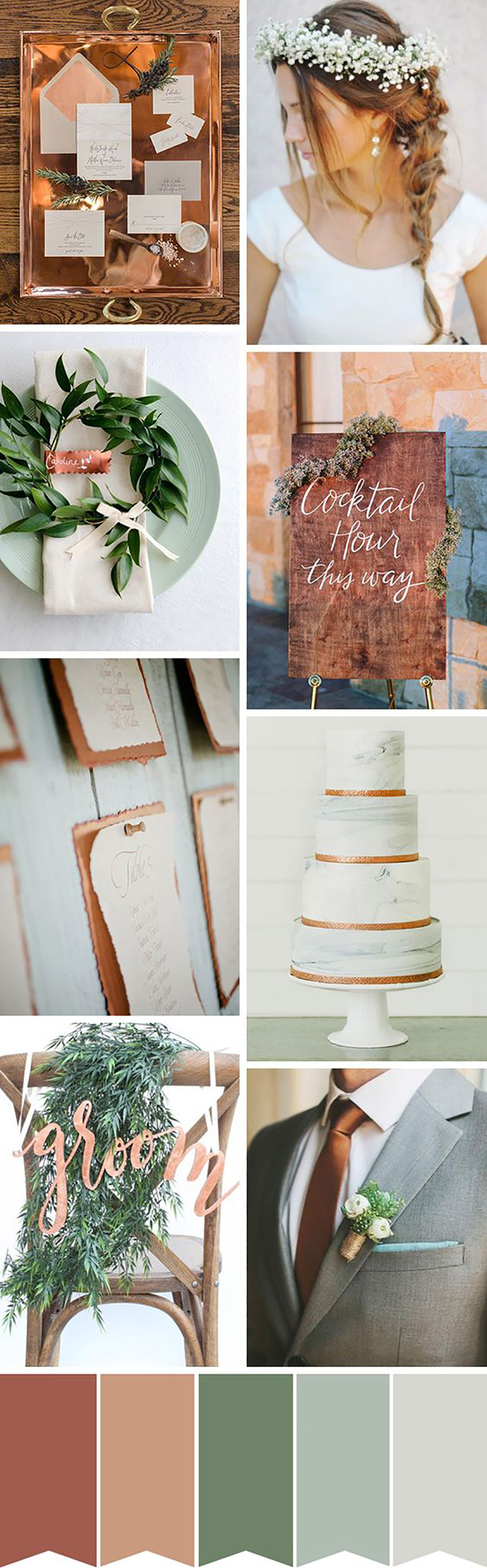 The Hottest Wedding Trends For 2017 - Colour schemes   CHWV