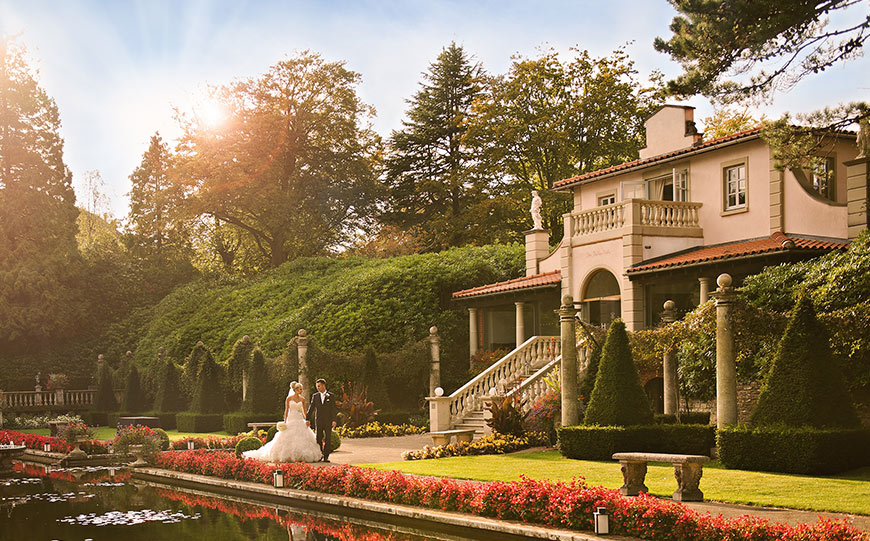27 Intimate Wedding Venues That You Have To See - The Italian Villa | CHWV