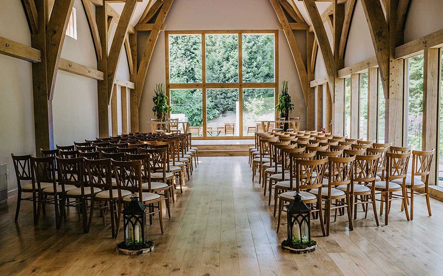 27 Intimate Wedding Venues That You Have To See - The Mill Barns | CHWV