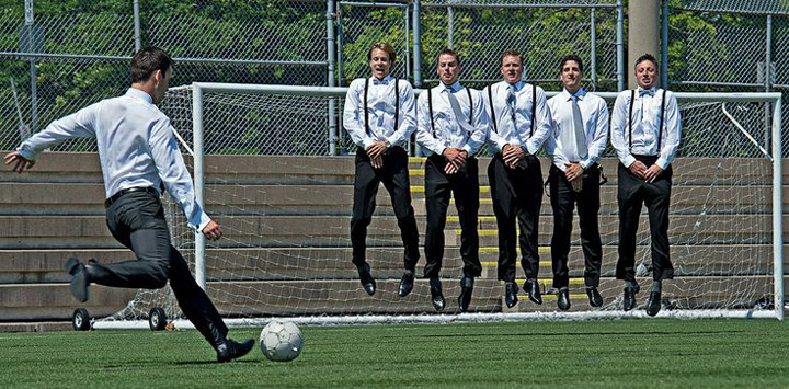 18 Things Your Groom is Definitely Doing While You're Getting Ready - Kickabout | CHWV