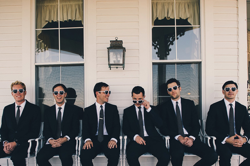 18 Things Your Groom is Definitely Doing While You're Getting Ready - Finishing touches | CHWV