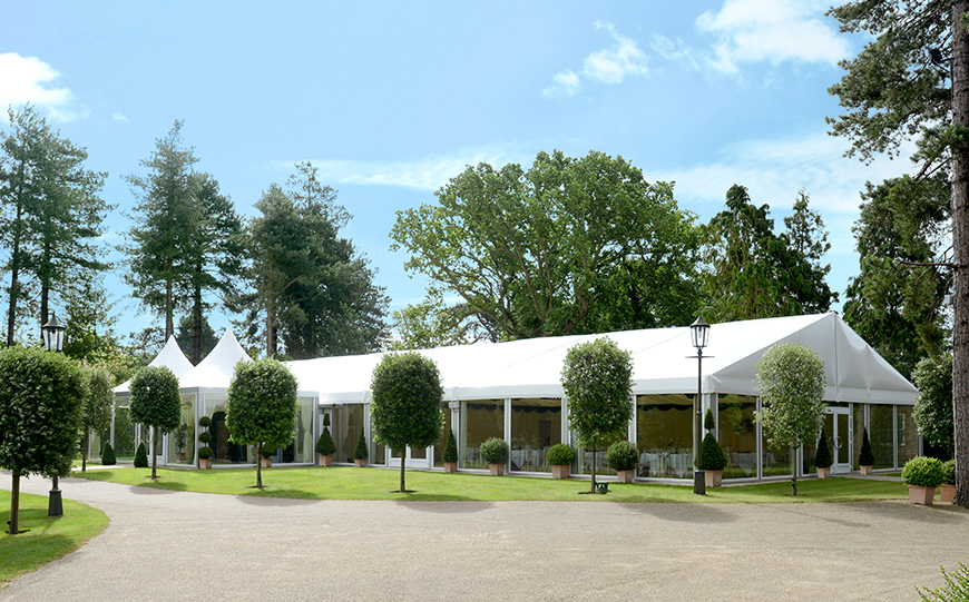 7 Glorious Garden Wedding Venues - Thursford Garden Pavilion | CHWV