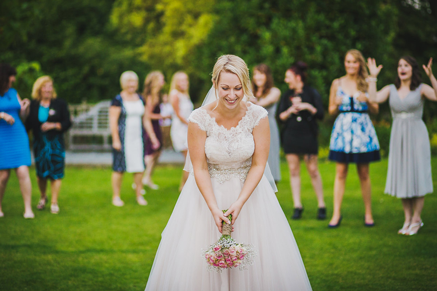 To toss or not to toss - the bouquet that is!   CHWV