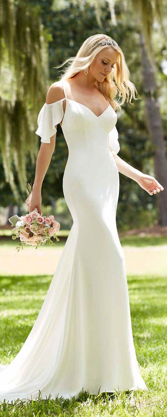 Trend Alert – Off The Shoulder Wedding Dresses