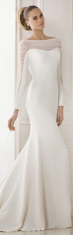 Trend alert - Off the shoulder wedding dresses