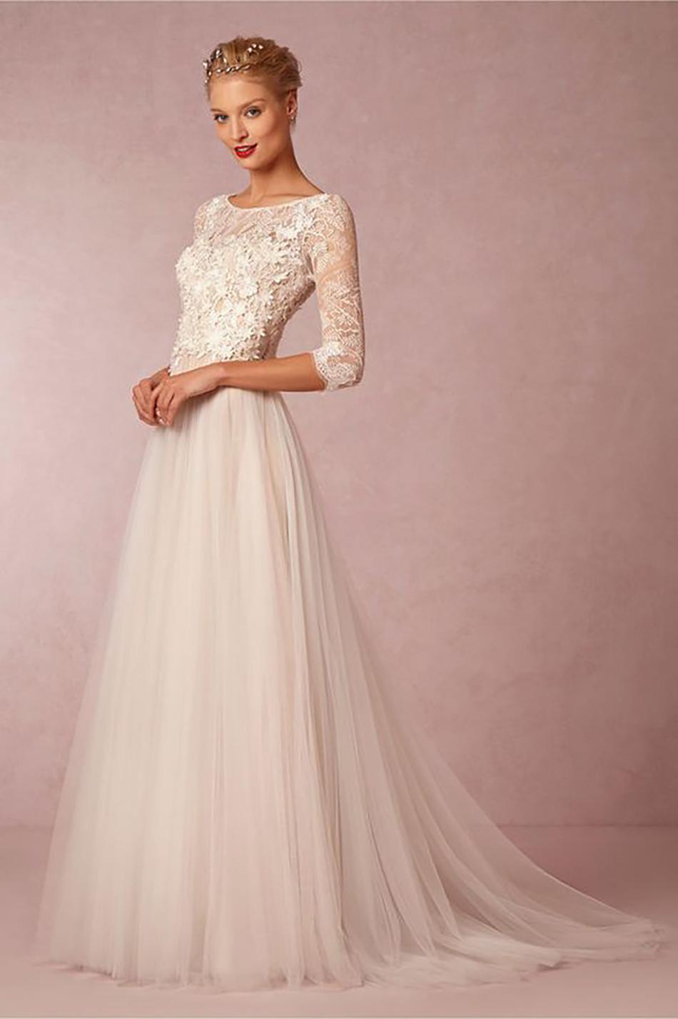 One wedding dress? Try three!
