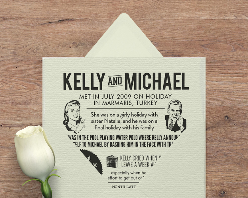 Unique Wedding Invitations That Will Really Stand Out! | CHWV