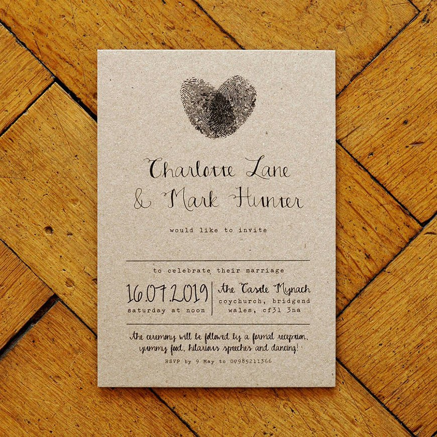 When Do You Send Out Wedding Invitations: Unique Wedding Invitations That Will Really Stand Out!