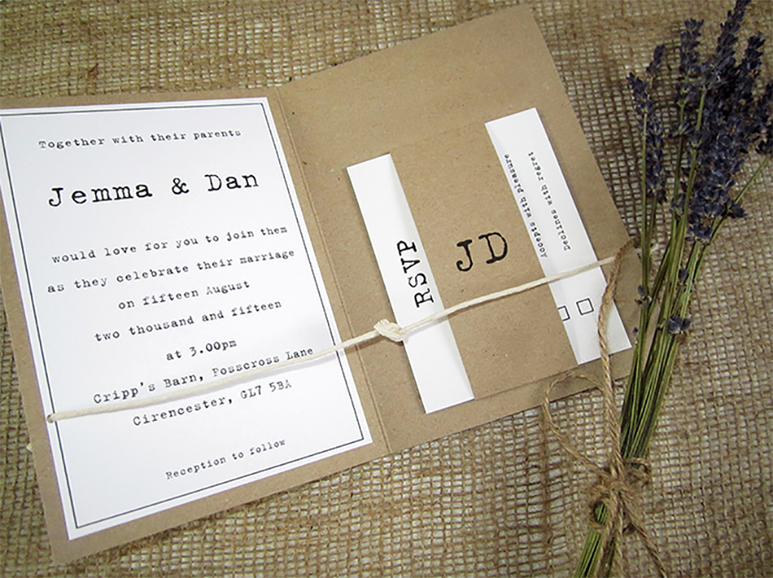 Unique Wedding Invites: Unique Wedding Invitations That Will Really Stand Out!