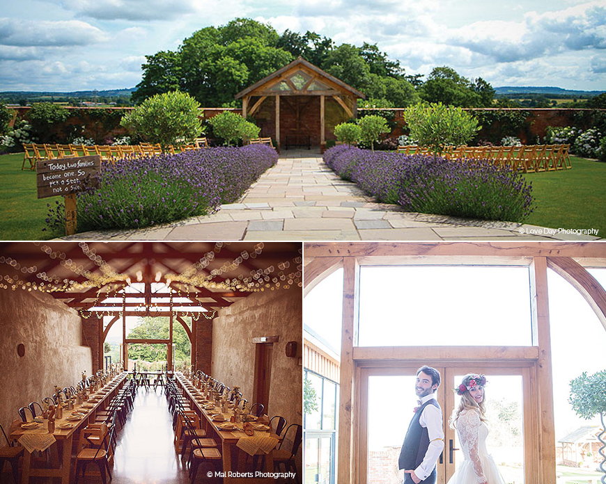 Upton Barn and Walled Garden - Barn wedding venue in Devon