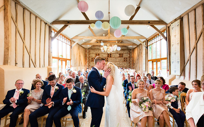 Choosing The Perfect Boho Wedding Venue - Upwaltham Barns | CHWV