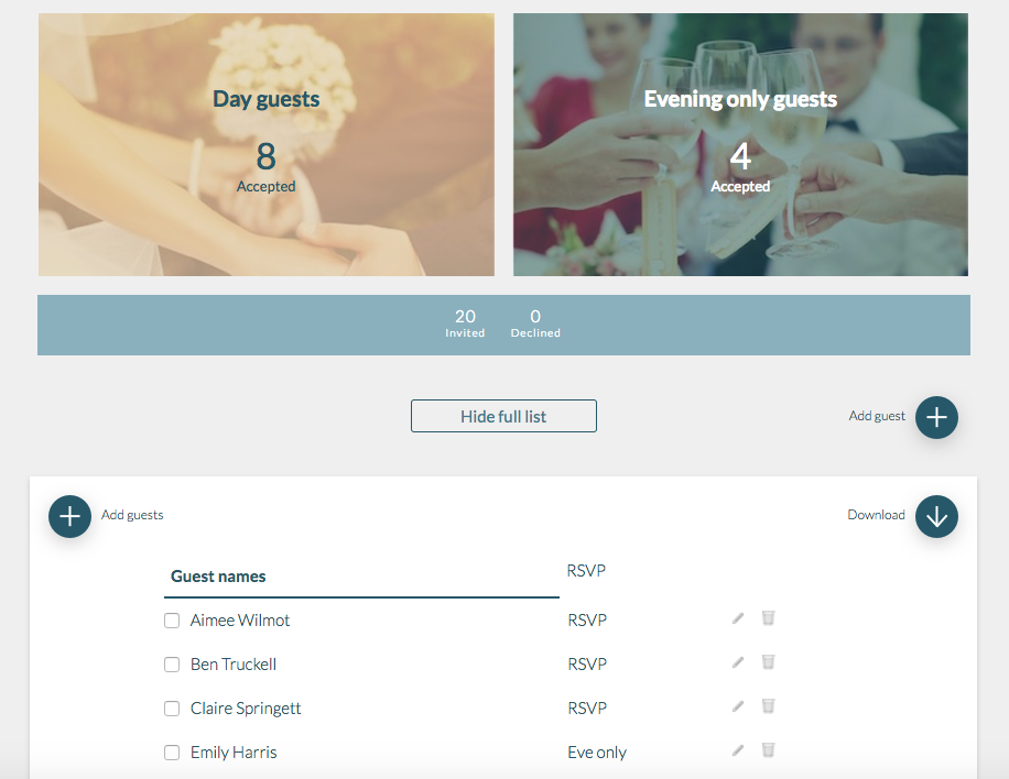 The Online Tools You Need to Simplify Wedding Planning | CHWV